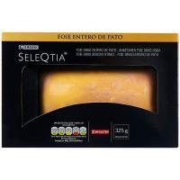 Foie gras entero de pato EROSKI SeleQtia 325g