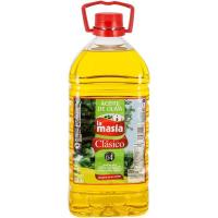 Aceite de oliva suave LA MASIA, garrafa 3 litros