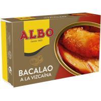 Bacalao a la vizcaína ALBO, lata 115 g