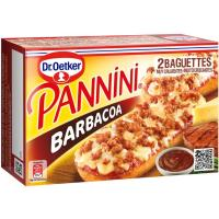 Panninis a la barbacoa DR. OETKER, pack 2x125 g