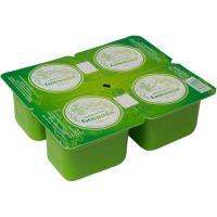 Yogur desnatado natural GOENAGA, pack 4x125 g