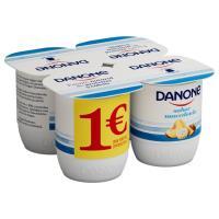 Yogur sabor a macedonia DANONE, pack 4x125 g