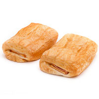 Napolitana de jamón-queso, bandeja 2 unid.