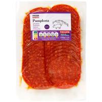 Chorizo Pamplona extra EROSKI basic, sobre 200g
