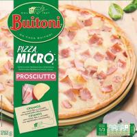Pizza microondas de jamón-queso BUITONI, caja 315 g