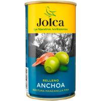 Aceitunas rellenas de anchoa JOLCA, lata 150 g