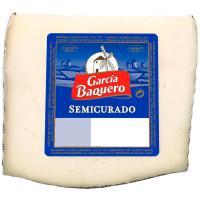 Queso semicurado mezcla G. BAQUERO, cuña 405 g