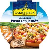 Ensalada de pasta con jamón CARRETILLA, bol 240 g
