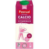 Leche Desnatada Calcio PASCUAL, brik 1 litro