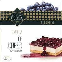 Tarta de queso con arándanos CASA ECEIZA, caja 500 g