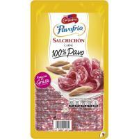 Salchichón 100% pavo CAMPOFRÍO, bandeja 90 g