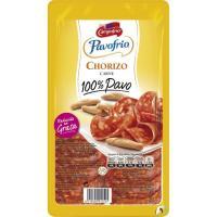Chorizo 100% pavo CAMPOFRÍO, bandeja 90 g